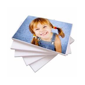 20 Folhas Papel Fotográfico Brilhante A4 Adesivo Glossy 135g