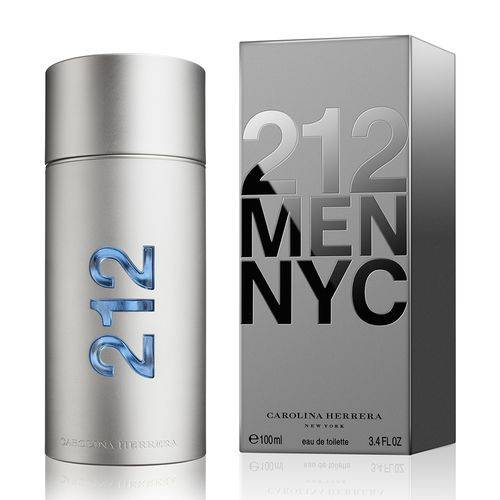 Tudo sobre '212 Men Eau de Toilette 100ml - Carolina Herrera'