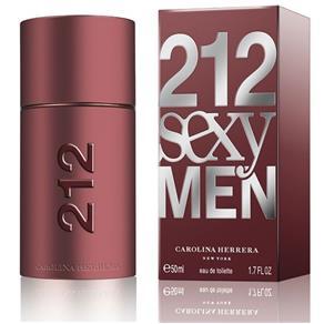 212 Sexy Men de Carolina Herrera Eau de Toilette Masculino 30 Ml - 30 ML