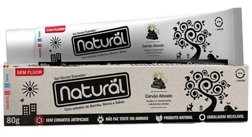 Tudo sobre 'Creme Dental Natural Carvão Ativado'