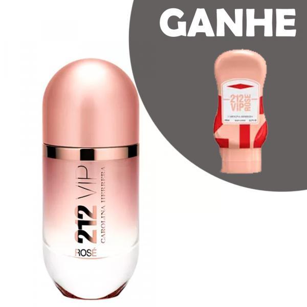 212 VIP Rosé Eau de Parfum Carolina Herrera - Perfume Feminino + Body Lotion