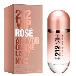 212 Vip Rose Eau de Parfum Perfume Feminino 50ml 30ml