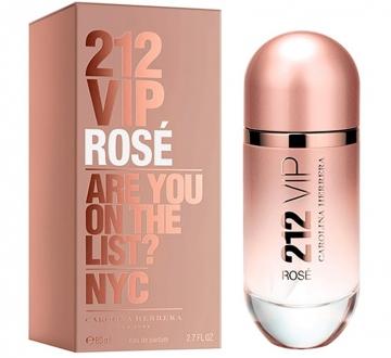 212 Vip Rose Eau de Parfum Perfume Feminino 80ml - Carolina Herrera