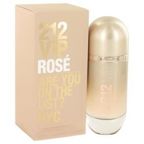 212 Vip Rose Eau de Parfum Spray Perfume Feminino 80 ML-Carolina Herrera
