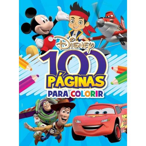 100 Paginas para Colorir - Meninos - Disney