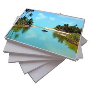 20 Fls Papel Fotográfico Brilhante A4 Adesivo Glossy 130G