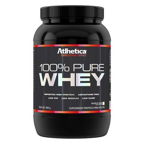 100 Pure Whey (900g) - Atlhetica Nutrition
