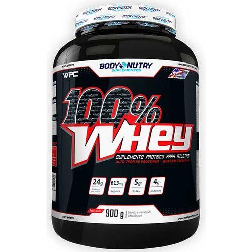 100% Whey - Baunilha - 900g - Body Nutry