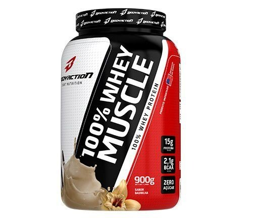 100 Whey Muscle (900g) - Body Action
