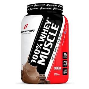 100% Whey Muscle 900G Bodyaction Chocolate