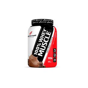 100% Whey Muscle 900gr - Body Action Sabor:Chocolate - Chocolate - 900 G