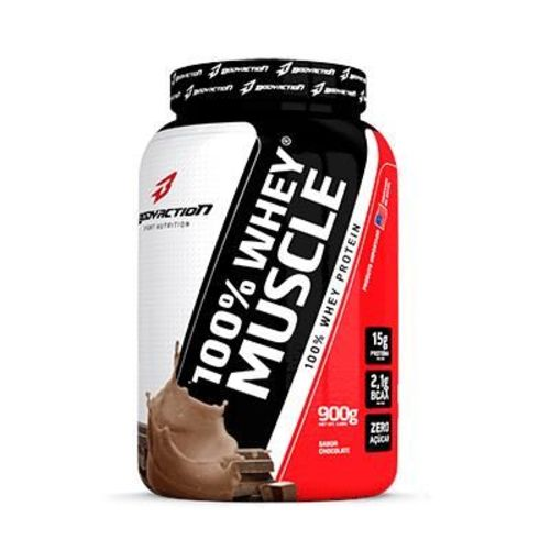 100% Whey Muscle Bodyaction 900g - Proteina