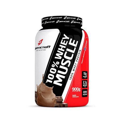 100% Whey Muscle Chocolate 900g Bodyaction