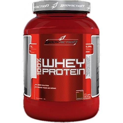 100 Whey Protein - 900g - Body Action