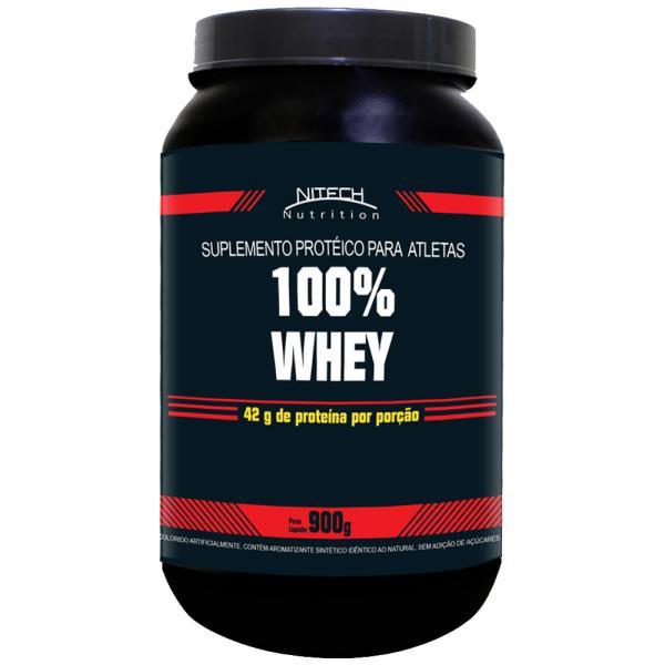 100 Whey Protein - 900G - Nitech Nutrition