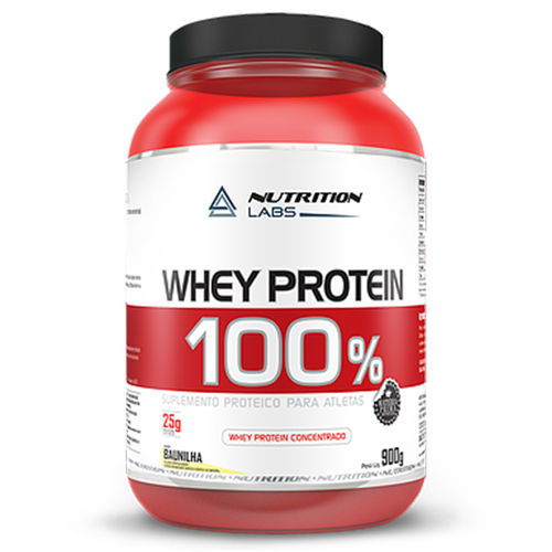 100% Whey Protein 900g Nutrition Labs