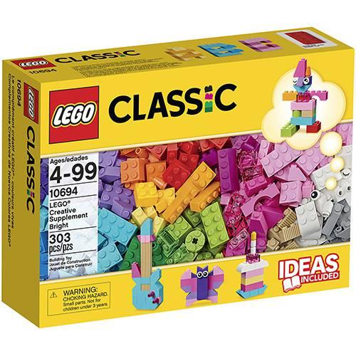 Tudo sobre '10694 - LEGO Classic - Suplemento Criativo e Colorido'