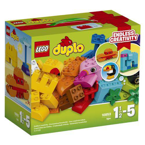 Tudo sobre '10853 - Lego® Duplo® - Caixa Criativa de Construção'