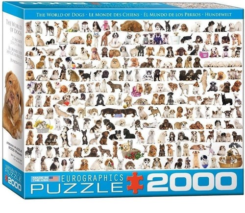 (1103) The World Of Dogs - 2000 Peças