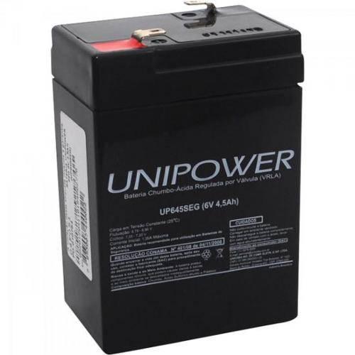 1462 Bateria Selada Up645seg 6v/4,5ah Unipower