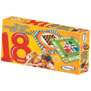 18 Jogos - Diversão para Toda a Família - Xalingo