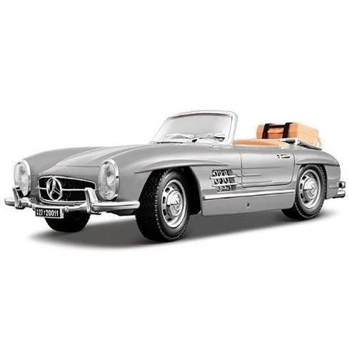 Tudo sobre '1957 Mercedes Benz 300 Sl Touring 1:18 Bburago Prata'