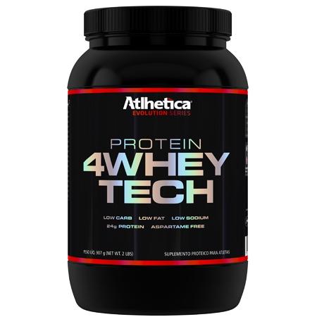 4 Whey Tech (900g) - Atlhetica Nutrition