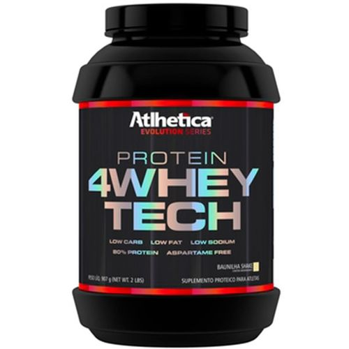 4 Whey Tech 900g - Atlhetica Nutrition