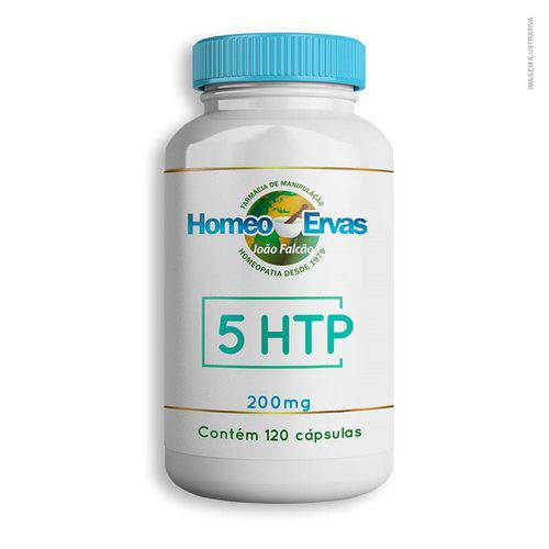 5 HTP 200mg - 120 Cápsulas