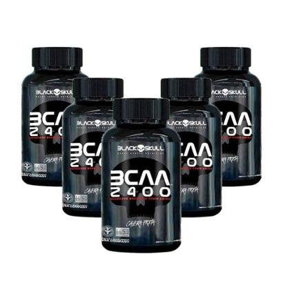 5X Bcaa 2400 (30 Tabletes) - Black Skull