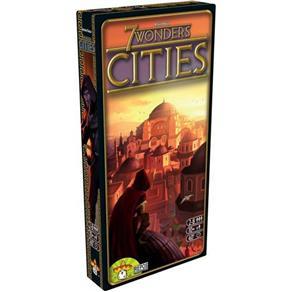 7 Wonders Cidades Cities Expansão Galapagos 7WO005