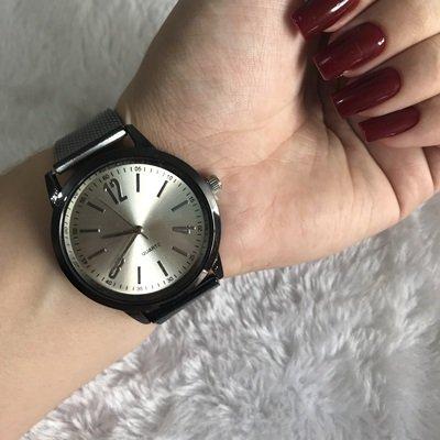 #7532 - Relógio Pulseira Silicone Preto