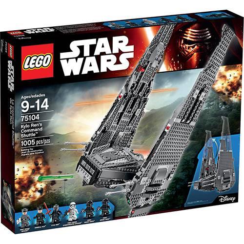 Tudo sobre '75104 - LEGO Star Wars - Star Wars Command Shuttle de Kylo Ren'