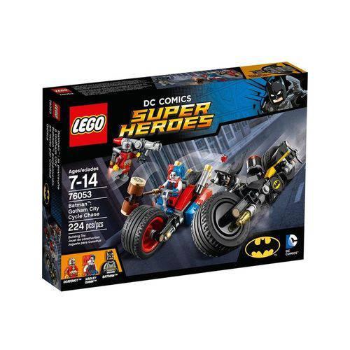 Tudo sobre '76053 - LEGO Super Heroes - Batman: Perseguição de Motocicleta na Cidade de Gotham'