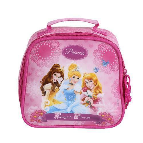 91870 Lancheira Nylon 60398/16 - Princesas - Dermiwil