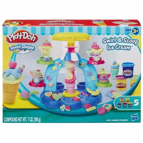 Play Doh Sorveteria Divertida B0306-Hasbro