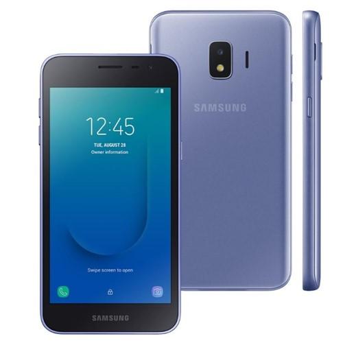 Smartphone Samsung Galaxy J2 SM-J260M, Dual Chip, 8 MP, Android 8.1 Core-Prata