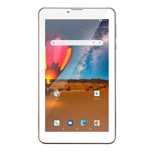 Tudo sobre 'Tablet M7 3G Plus Dual Chip Quad Core 1 GB de Ram Memória 16 GB Tela 7 Polegadas Dourado NB306-Multilaser'