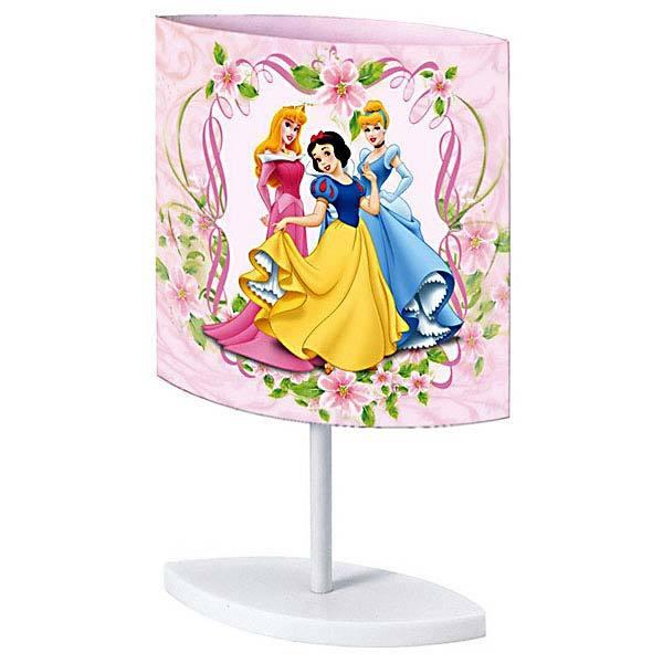 Abajur Colorido Plástico Princesas Startec