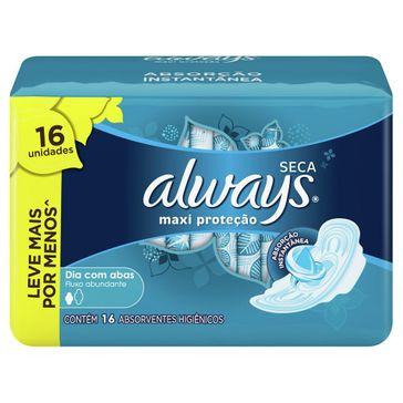 Absorvente Always Active com Abas Seca Leve 16 Pague 14