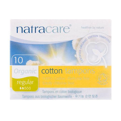Tudo sobre 'Absorvente Interno Orgânico Cotton Tampons Regular com 10 Unidades - Natracare'