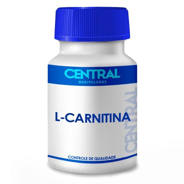 Acetil L Carnitina 500mg Central Manipulados