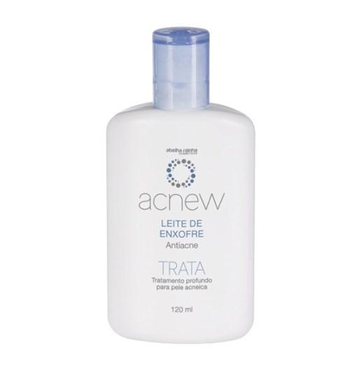 Acnew – Leite de Enxofre Antiacne - Tratamento Profundo para a Pele Ac...