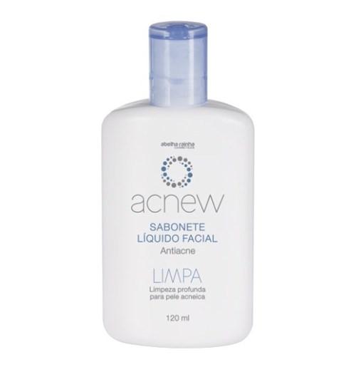 Acnew – Sabonete Líquido Facial Anti-Acne - Limpeza Profunda para Pele...