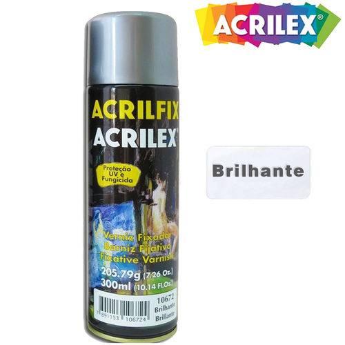 Acrilfix Verniz Fixador Brilhante 300ml 10672 - Acrilex