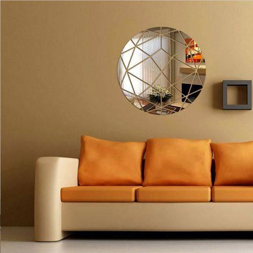 Tudo sobre 'Acrílico Espelho Decorativo Circulo Abstrato'