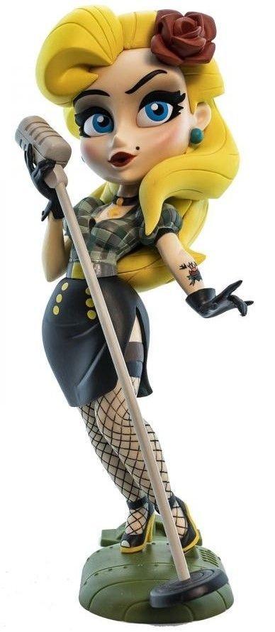 Tudo sobre 'Action Figure Dc Comics Bombshells Serie 3 Black Canary'