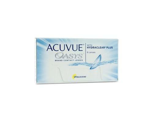 Tudo sobre 'Acuvue Oasys com Hydraclear -0.50 CB 8.4'