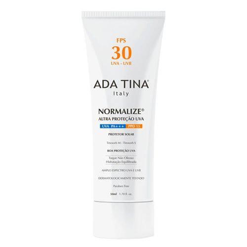 Ada Tina Normalize Protetor Solar Fps 30