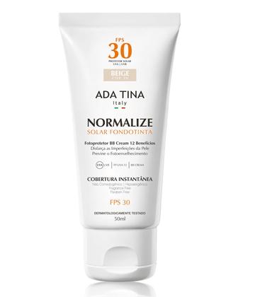 Ada Tina Normalize FT BB Cream Protetor Solar FPS 30 50g - 30 Beige